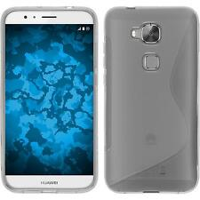 Silicone Case for Huawei G8 S-Style transparent + protective foils