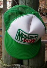 Mountain DewTrucker Hat Mesh Foam Snapback Cap