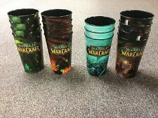 New Limited Edition World of Warcraft Plastic 32 ounce Cups Set of 15