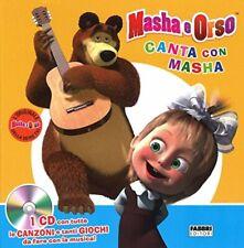 9788891518354 Canta con Masha. Masha e Orso. Ediz. illustrata. Con CD Audio - Aa