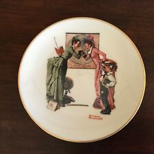 Norman Rockwell Plate~Back To School