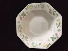 INDEPENDENCE IRONSTONE INTERPACE CHINA OLD ORCHARD PATTERN FRUIT/DESSERT  BOWL