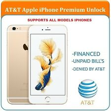 FULL PREMIUM AT&T Factory Unlock Code Service for iPhone 4 4S 5 5C 5S 6 6+ 6s 7