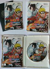 Naruto Shippuden : Dragon Blade Chronicles - Nintendo WII - Raro Italiano