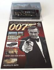 James Bond 007 Diecast Car Collection Diamonds Are Forever Cadillac Hearse New