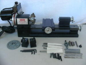 "** Sherline 4000 8"" Lathe ** With Accessories **"