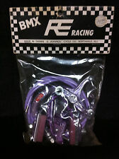 NOS Purple CHANG STAR MX-900 REAR BRAKE CALIPER, CABLE & LEVER Old School BMX