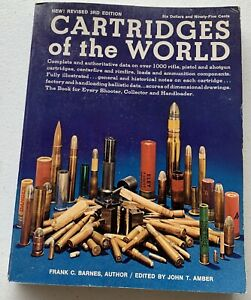 Cartridges of the World by Frank C. Barnes  - Paperback