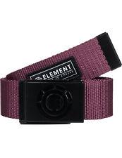 Element Beyond Webbing Belt in Vintage Red