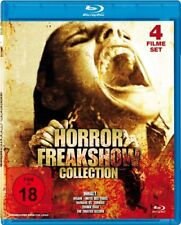 4 Horrorfilme BLU-RAY Humans vs. Zombies, Insane - Hotel des Todes, The Theatre