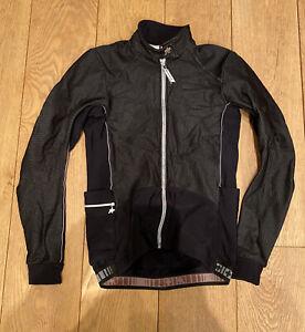 Assos Cycling thermal winter jacket black mens Medium swiss
