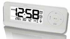 Technoline Radioréveil Wt 498S Orario Radiocontrollato Snooze 2 Allarmi Sveglia
