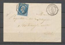1862 Lettre N°14 obl. C.15 Pouzauge, obl. Par le càd, SUP X3916