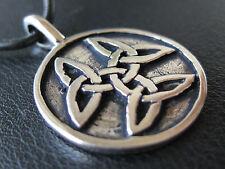 Keltischer Knoten 925'er Silber Ketten Anhänger Amulett / KA 838