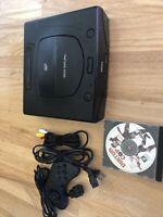 Sega Saturn Console MK-80000A Console, Controller And Virtua Cop
