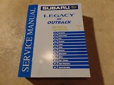 2004 Subaru Legacy and Outback Factory Service Manual Vol 4 Engine H4D0TC