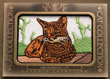 2020 Ud Goodwin Champions Abyssinian Cat Collection Patch Sp Fc-2! Sp Rare