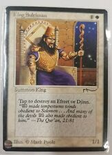 1 X King Suleiman Arabian Nights Rare Nm Mtg Magic The Gathering