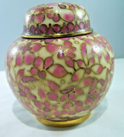 Chinese Cloisonne Urn with Lid