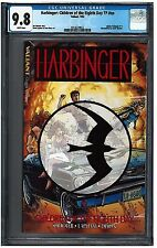 HARBINGER: Children of the Eighth Day TP #NN CGC 9.8 (1992) Valiant white pages
