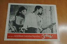 CLAUDIA CARDINALE JEAN-PAUL BELMONDO CARTOUCHE 1966 4 LOBBY CARDS U.S.  ORIGINAL