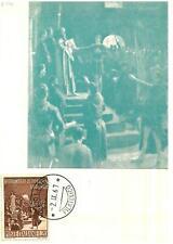 ITALIA REP. - 1967 - 8º centenario del giuramento di Pontida su maximum - (A)