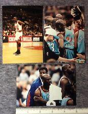 3 GAME TAKEN ORIGINAL VINTAGE SNAP SHOTS of  MICHEAL JORDAN SHAQ 1990s   #119c