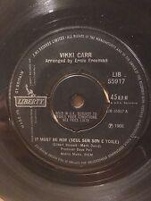 "VIKKI CARR 7"" - IT MUST BE HIM (SEUL SUR SON E TOILE) / SO NICE (SUMMER SAMBA)"
