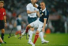 SCOTLAND HAND SIGNED KENNY MILLER 12X8 PHOTO PROOF 10.