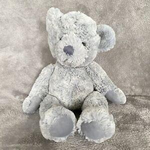 "Russ Berrie 13"" Grayson Teddy Bear Gray Plush Stuffed Animal"