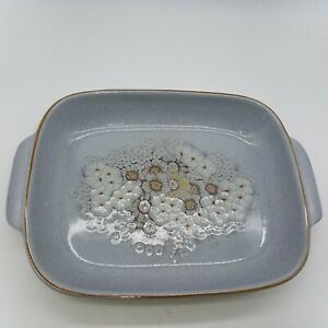 Large Denby Reflections Open Casserole Serving Dish 36cm long with handles
