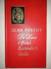 Old Mr. Boston De Luxe Official Bartender's Guide 29th Printing 1965
