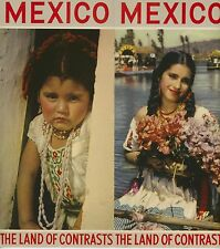 1940s Mexico Travel Brochure Mexican Color Photos Pan American Airways Vacation