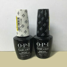 OPI Gel Color Top and Base Coat - 2 bottles x 15ml Fast and Free Delivery in UK!