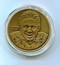 Joe Montana Highland Mint One Troy Ounce Bronze Series Medallion 49ers /25000