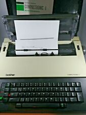 Vintage Brother Compactronic 1 (CE-222) Daisy Wheel Electronic Typewriter