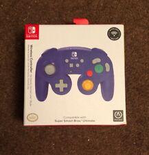 PowerA Wireless Controller Nintendo Gamecube Style Purple Nintendo Switch NEW