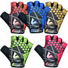 VELO Cycling Gloves Fingerless Bike Half Finger Bicycle Gel Padded Sports