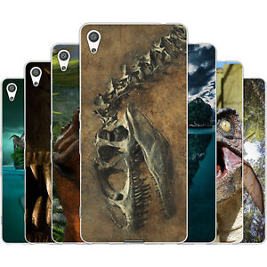 Dessana Dinosaur World Silicone Protective Case Case Pouch Cover For sony