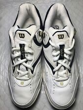Wilson Pro Staff 1000 Men's White Leather Athletic Shoes Size-8