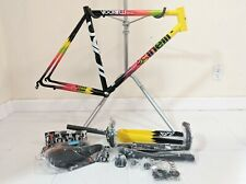 NEW Cinelli Vigorelli Steel Medium (53cm) Road Frame Carbon Fork Lots of Extras