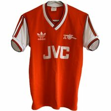 1986 1988 Arsenal home Football Shirt - Small Adult Read Authentic Original