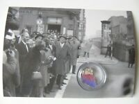 POSTCARD WITH SMALL AUTHENTIC PIECE OF THE BERLIN WALL, Germany,bpc017