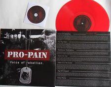 LP&CD PRO-PAIN Voice Of  Rebellion RED VINYL -  Steamhammer/SPV 268941 LP SEALED