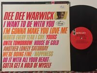 Dee Dee Warwick I Want To Be With You EX (2 faint marks) MERCURY MONO DG ORIG