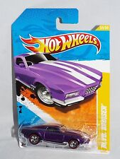 Hot Wheels 2011 New Models #34 BLVD. Bruiser Purple w/ Wal-Mart Red Lines