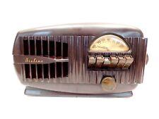 VINTAGE 1940s OLD AIRLINE MID CENTURY MODERN ART DECO ANTIQUE BAKELITE RADIO