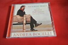 Andrea Bocelli Mistero Dell' Amore Victoria's Secret 7 Trk 2001 CD NEW SEALED