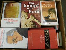 41 Bücher Hardcover Romane Sachbücher verschiedene Themen