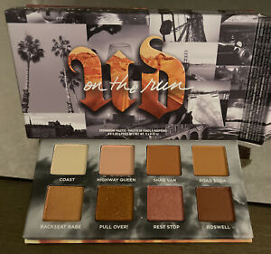 Urban Decay On The Run Mini Eyeshadow Palette In Highway Queen Authentic New